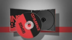 CD Promotion Red - stock after effects