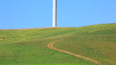 windmill vertical.mpg - stock footage