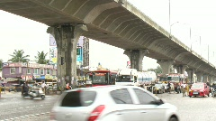 bangalore express way and junction - stock footage