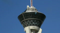 Driving by The Stratosphere Stock Footage