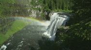 Mesa Falls Idaho Waterfall 49 Stock Footage