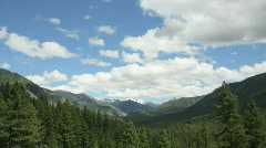 Grand Jean Idaho Mountains Timelapse B1 Stock Footage