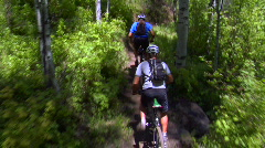UT PC Steadicam biking 2 - stock footage