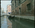 Empty Gondola's moored in Venice TBR Footage
