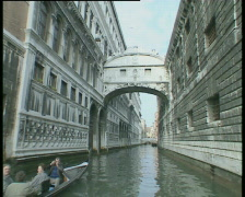 Venice Bridge of Sighs Canal Trip TBR Stock Footage