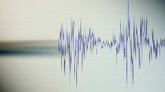 Seismograph.  - stock footage