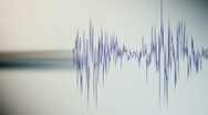 Stock Video Footage of Seismograph.