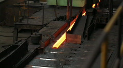 Heavy Industry - Steel Making Stock Footage