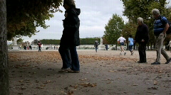 Tuileries Garden. Stock Footage