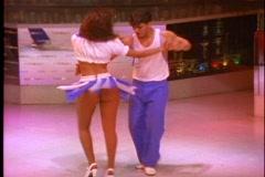 Rio de Janeiro Samba Show, couples dancing  Samba Stock Footage