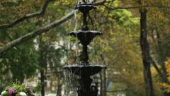 Fountain in Madison Square Park Stock Footage