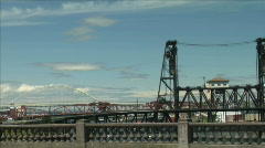 BRIDGES PORTLAND - stock footage
