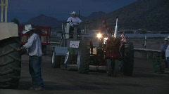 Patriotic Farmall Stock Footage