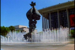 Los Angeles Music Center, Dorothy Chandler Pavilion Stock Footage