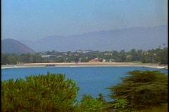 Silverlake Reservoir - stock footage