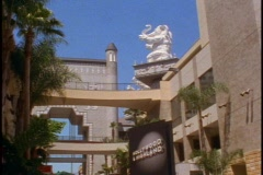 Hollywood and Highland complex Stock Footage