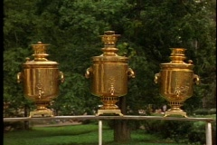Three Samovars, Stock Footage