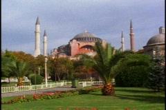 Hagia Sophia (Aya Sofya) Mosque, oldest Stock Footage