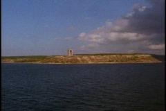 The Dardanelles, British WWII memorial,  POV Stock Footage