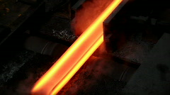 Heavy Industry - Steel Making - stock footage