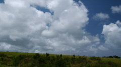 Island landscape Stock Footage