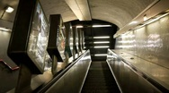 Paris metro. Stock Footage