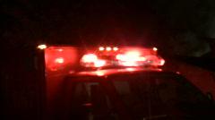 Ambulance Lights - stock footage