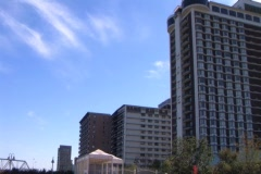 Pan of Buildings Downtown Louisville - stock footage