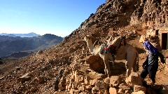 Mount Sinai. Egypt Stock Footage