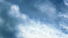 Clouds - h264 - stock footage