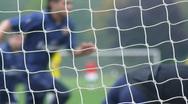 Goal soccer Stock Footage