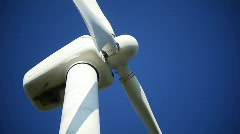 Close up on a windmill - stock footage