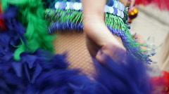 Samba dancer 2 - stock footage