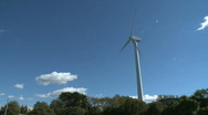 Stock Video Footage of Wind Turbine creates energy (8 of 10)