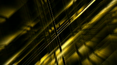 Golden metal pipe Intertwined and light.science fiction,future,Design,symbol Stock Footage