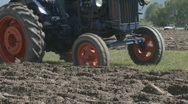 Stock Video Footage of fordson and plough