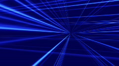 Light Traces in Perspective Stock Footage