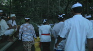 Stock Video Footage of Bali Parade 11