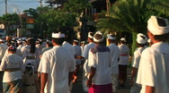 Stock Video Footage of Bali Cremation 7