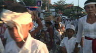 Stock Video Footage of Bali Cremation 6