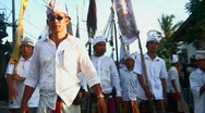 Stock Video Footage of Bali Cremation 2