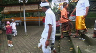 Stock Video Footage of Bali Temple Ceremony 12