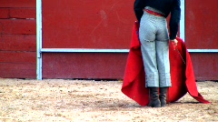 spanish bullfight - stock footage
