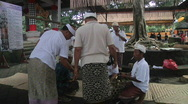 Stock Video Footage of Bali Temple Ceremony 8