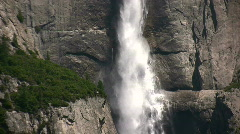Waterfall in California State Park Stock Footage