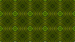 Green flower metal background.jewelry,science fiction,future,Design,symbol,dream Stock Footage