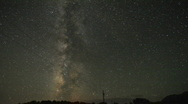 Stock Video Footage of Milky Way Time Lapse