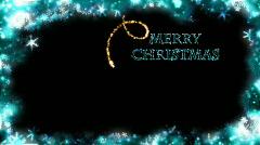 Christmas Card - Christmas 29 (HD) - English Stock Footage
