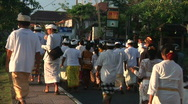Stock Video Footage of Bali Cremation 9