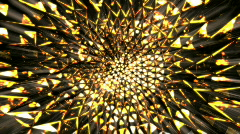 Magma kaleidoscope.   - stock footage